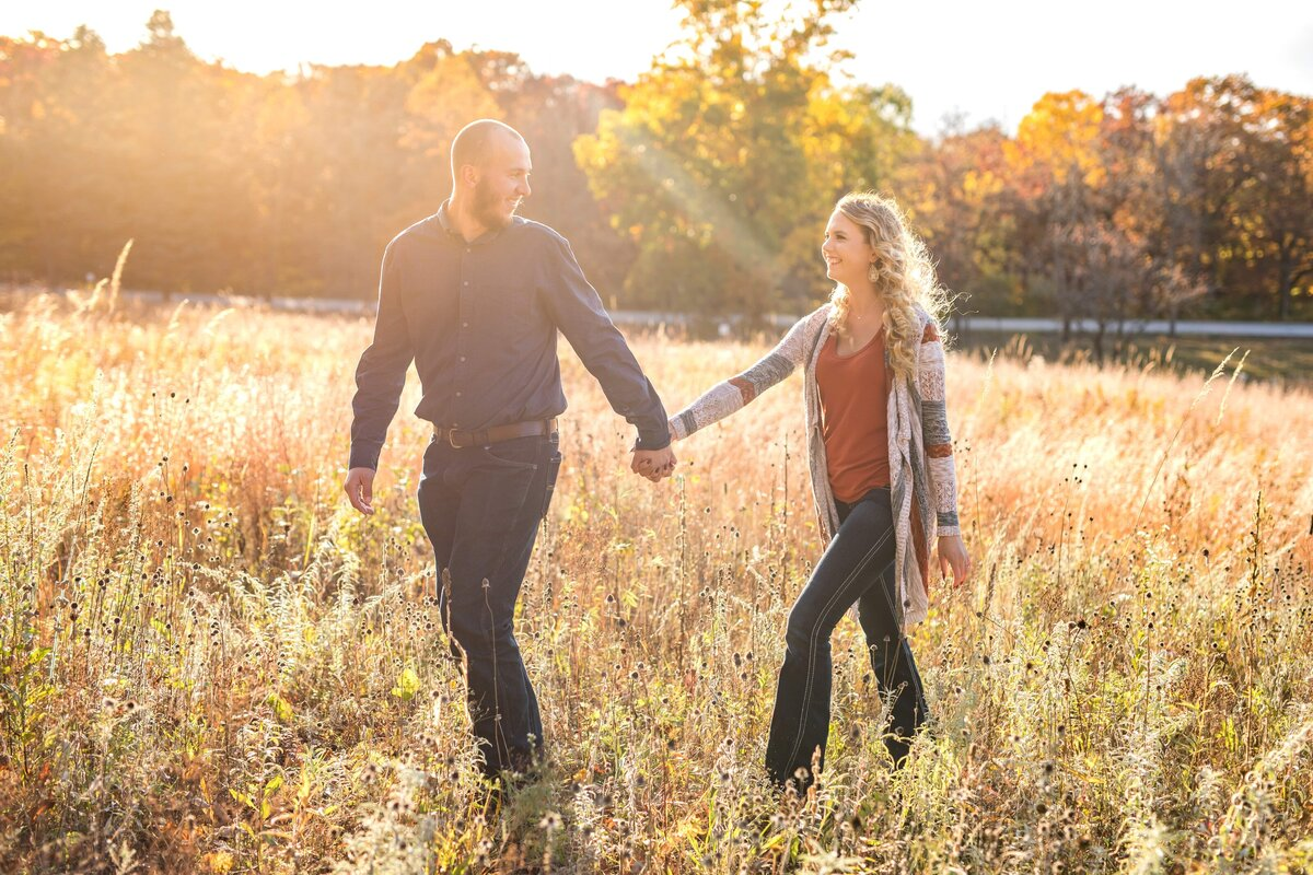 Lapham Peak Engagement Session WI