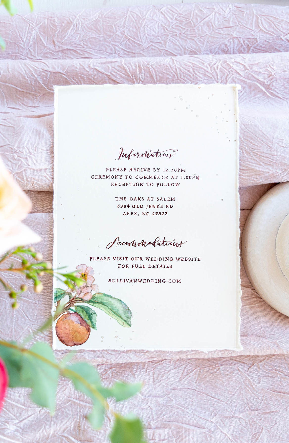 Peach & Cream Wedding_29