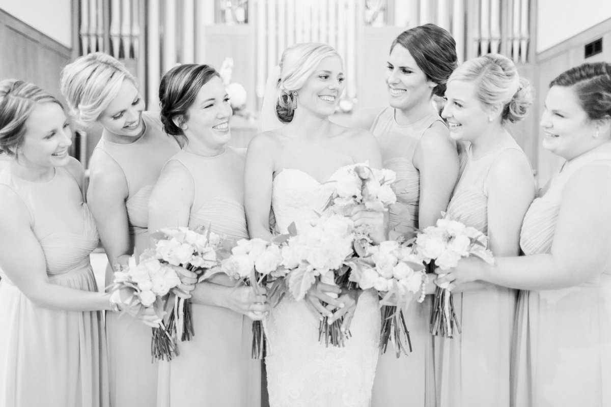Ardmore Convention Center Wedding Bridal Party