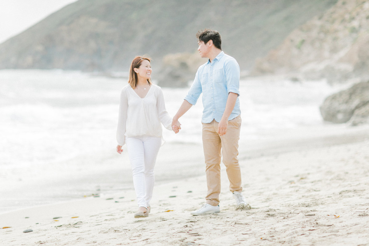 Pfieffer Beach Lifestyle Engagement Photos
