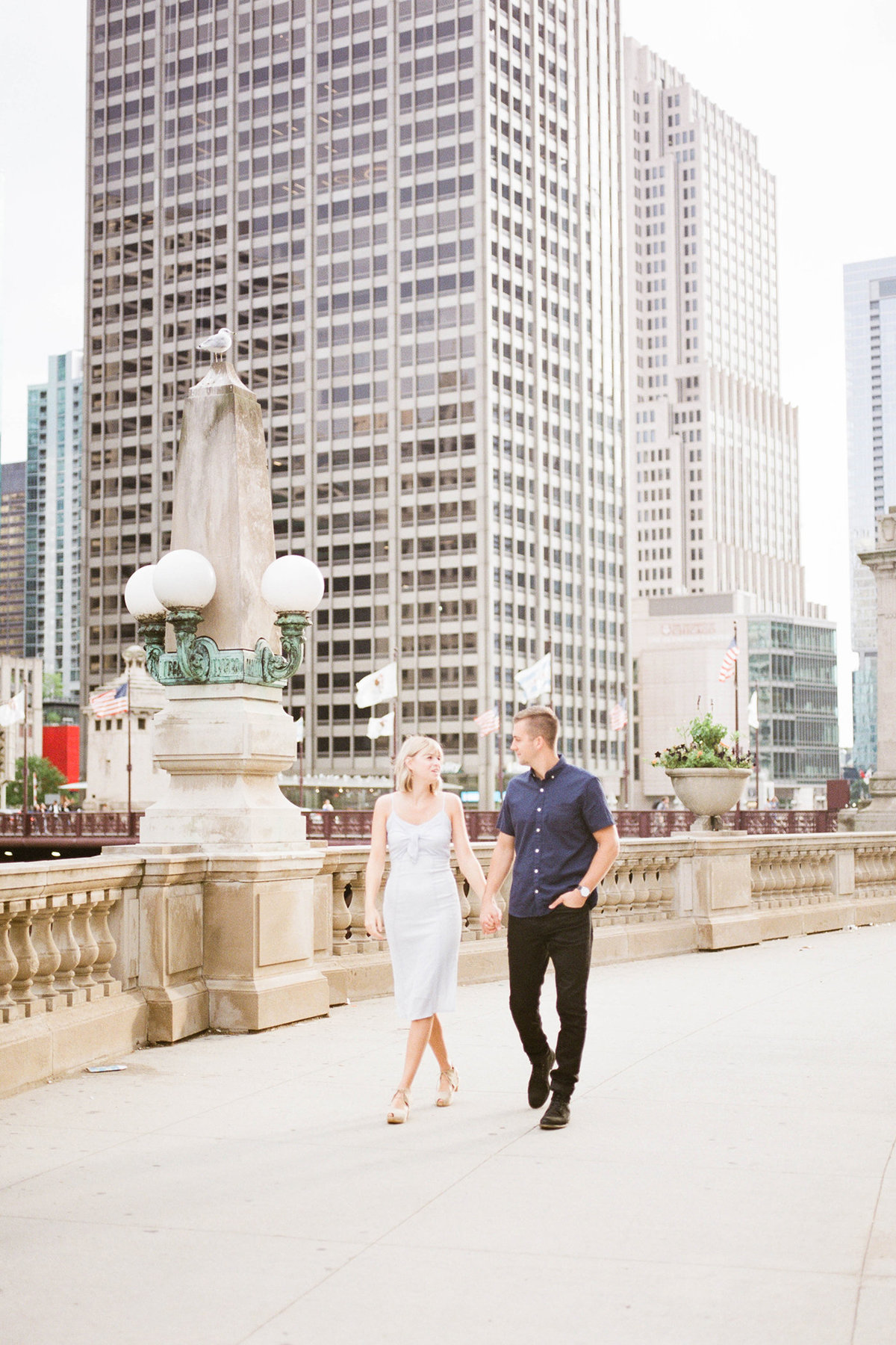 Chicago Wedding Photographer - Fine Art Film Photographer - Sarah Sunstrom - Sam + Morgan - Engagement Session - 12