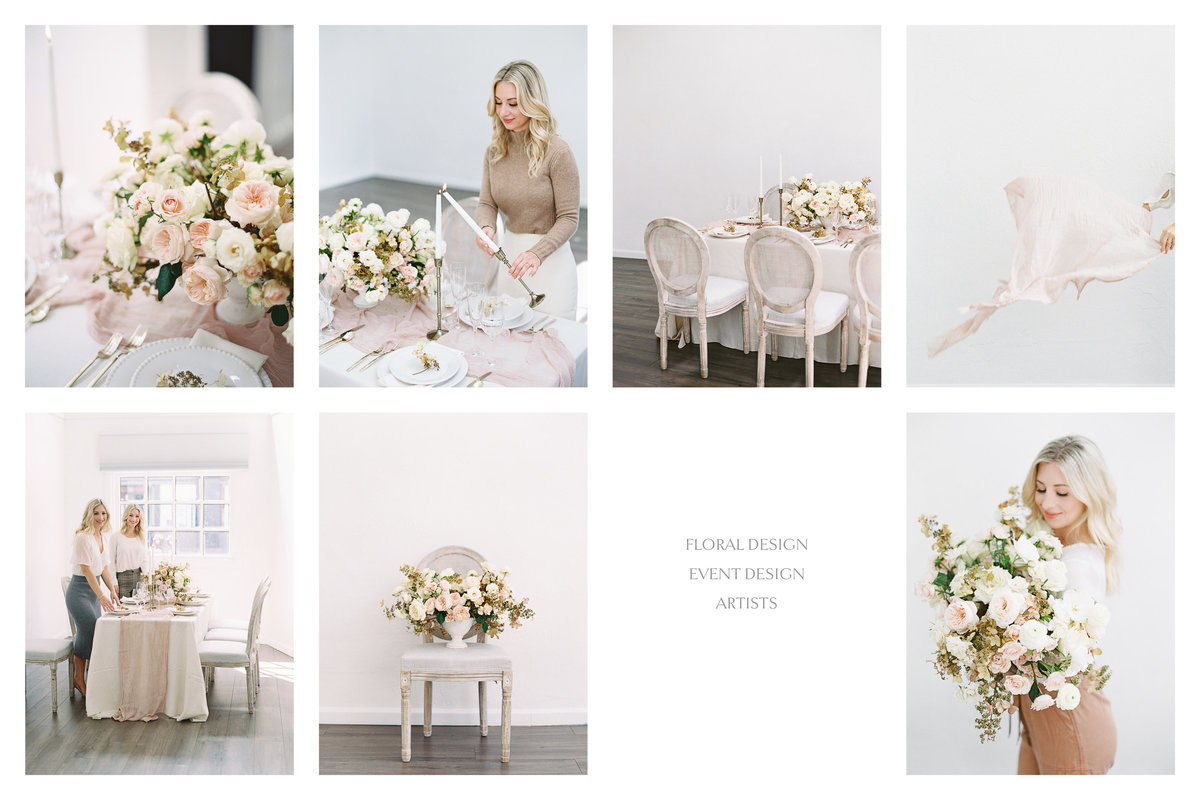 styled shoot branding images