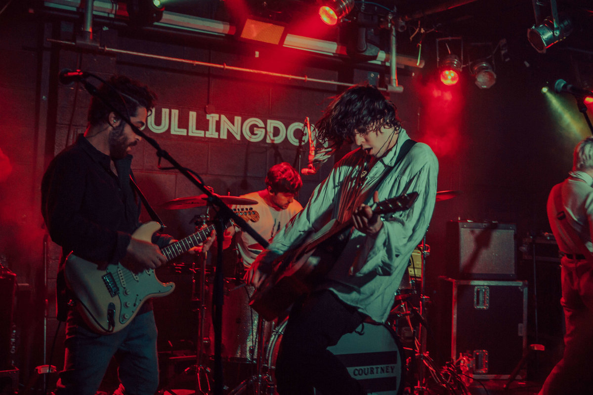 Barns Courtney onstage at The Bullingdon in Oxford