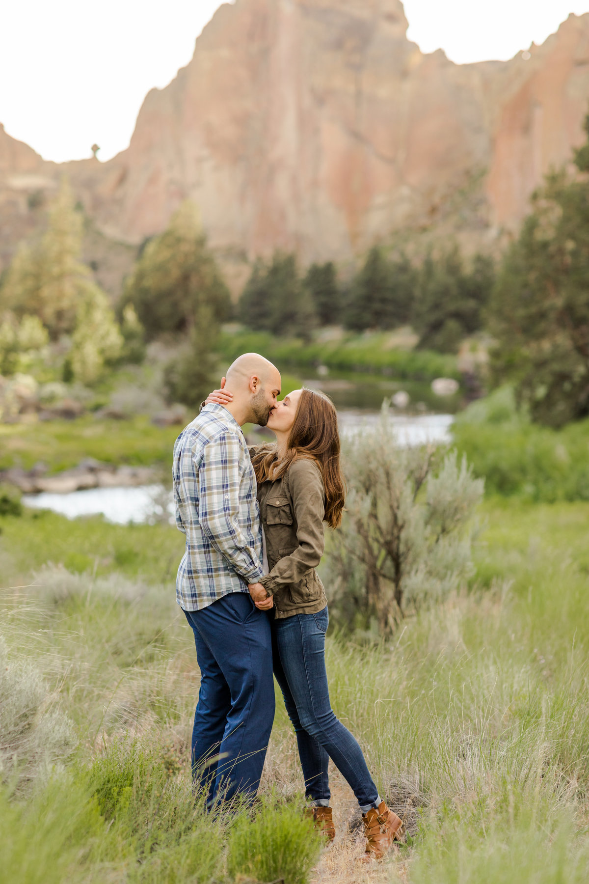 Smith Rock Engagement Session - Bend Oregon-5