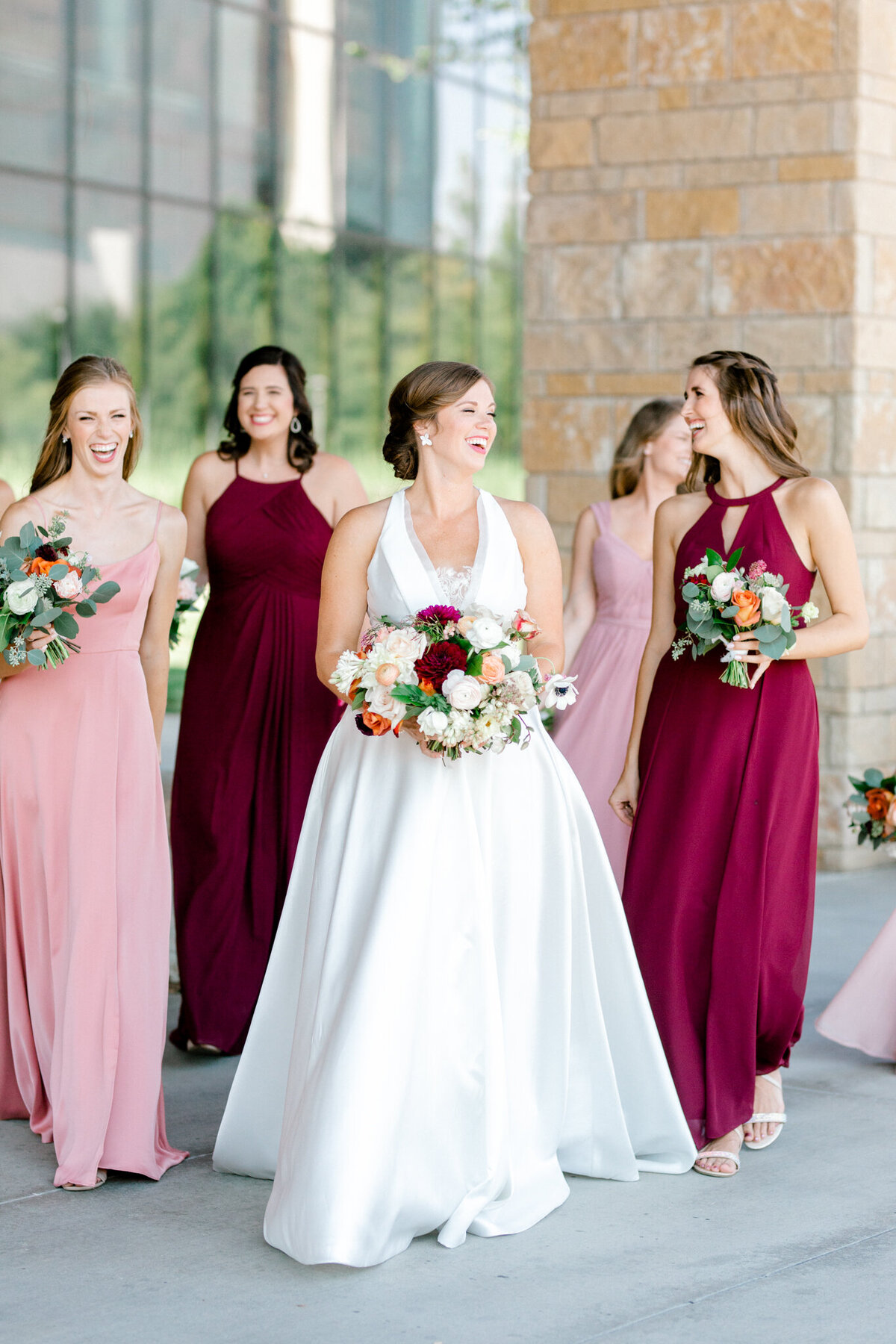 Kaylee & Michael's Wedding at Watermark Community Church | Dallas Wedding Photographer | Sami Kathryn Photography-83