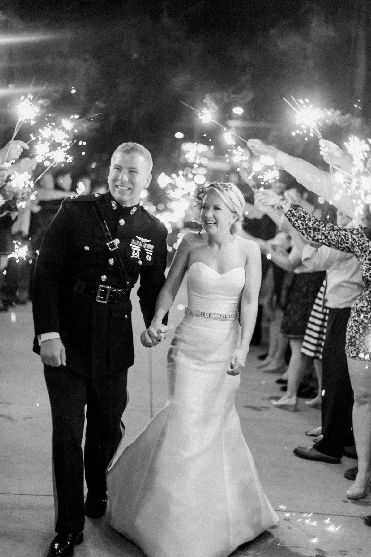 Downtown Denver Military Wedding