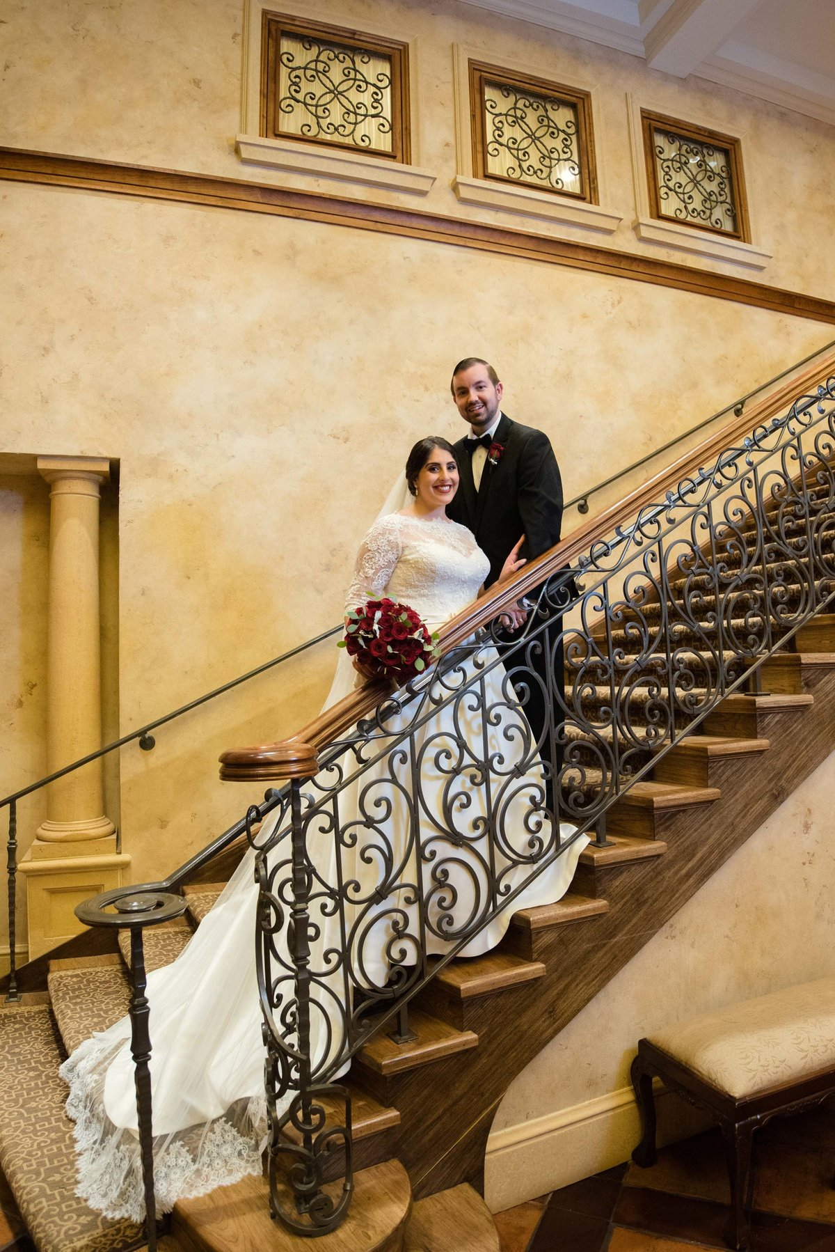 Larkfield Manor staircase photo