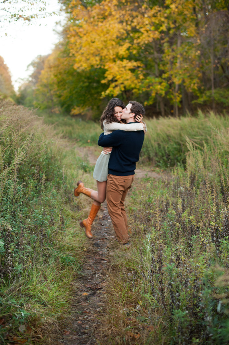 Fall engagementsession in Long Island NY