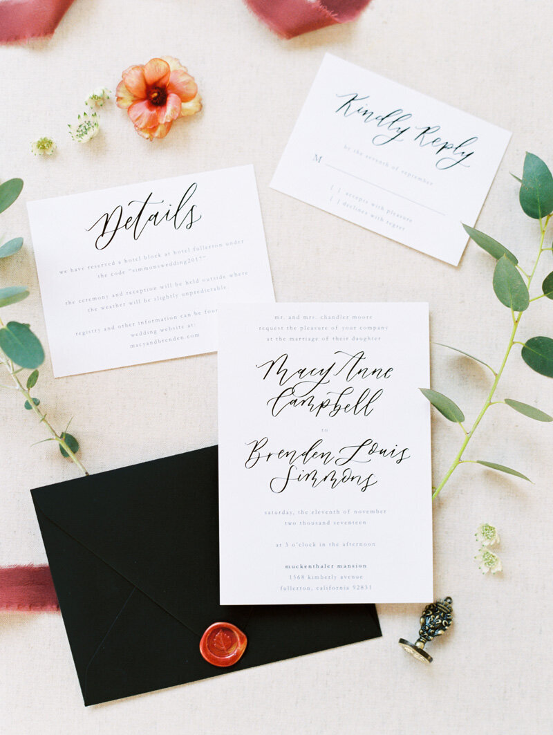 pirouettepaper.com | Wedding Stationery, Signage and Invitations | Pirouette Paper Company | Invitations | Jordan Galindo Photography _ (2)