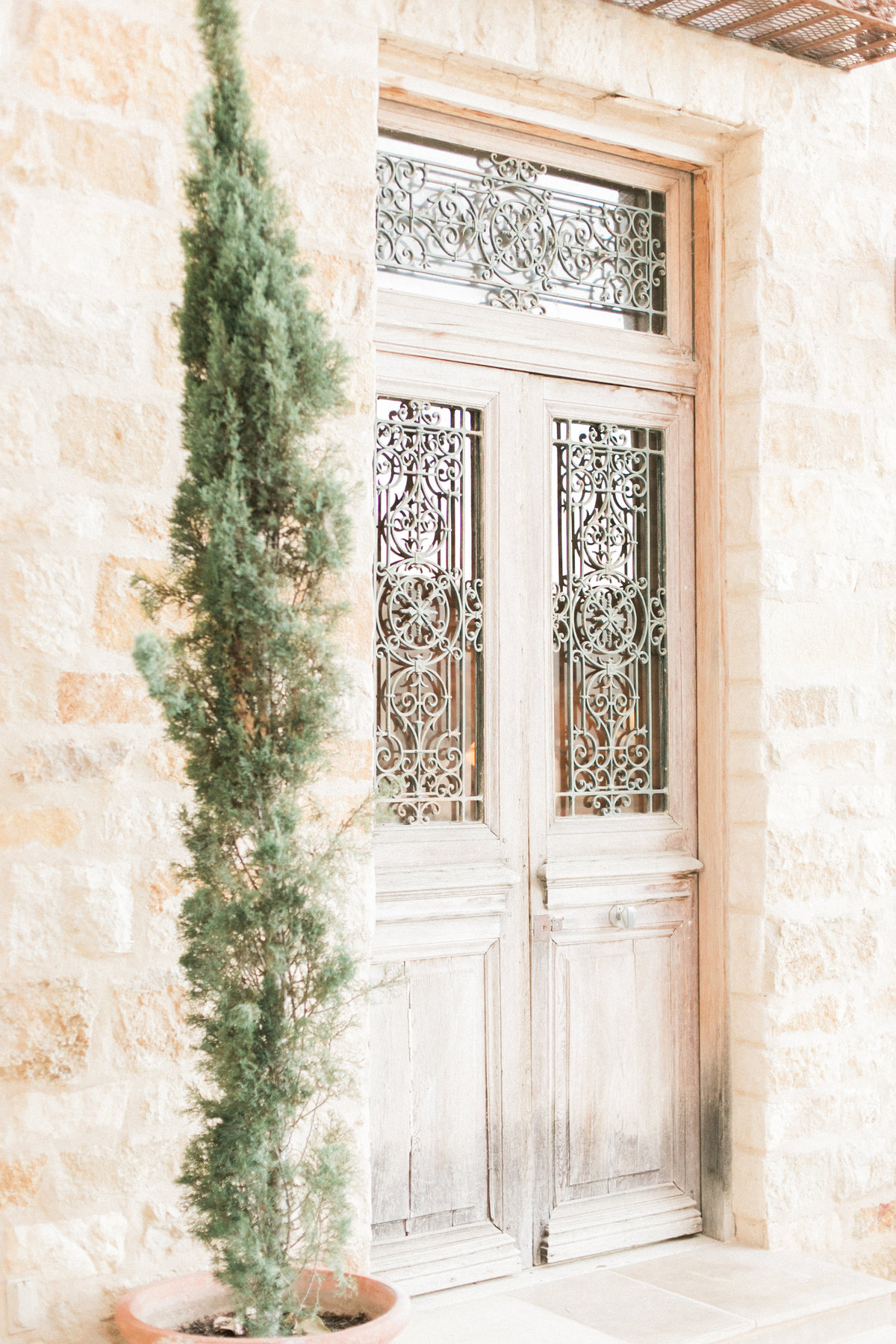 Italian Wooden Door Sunstone Villa