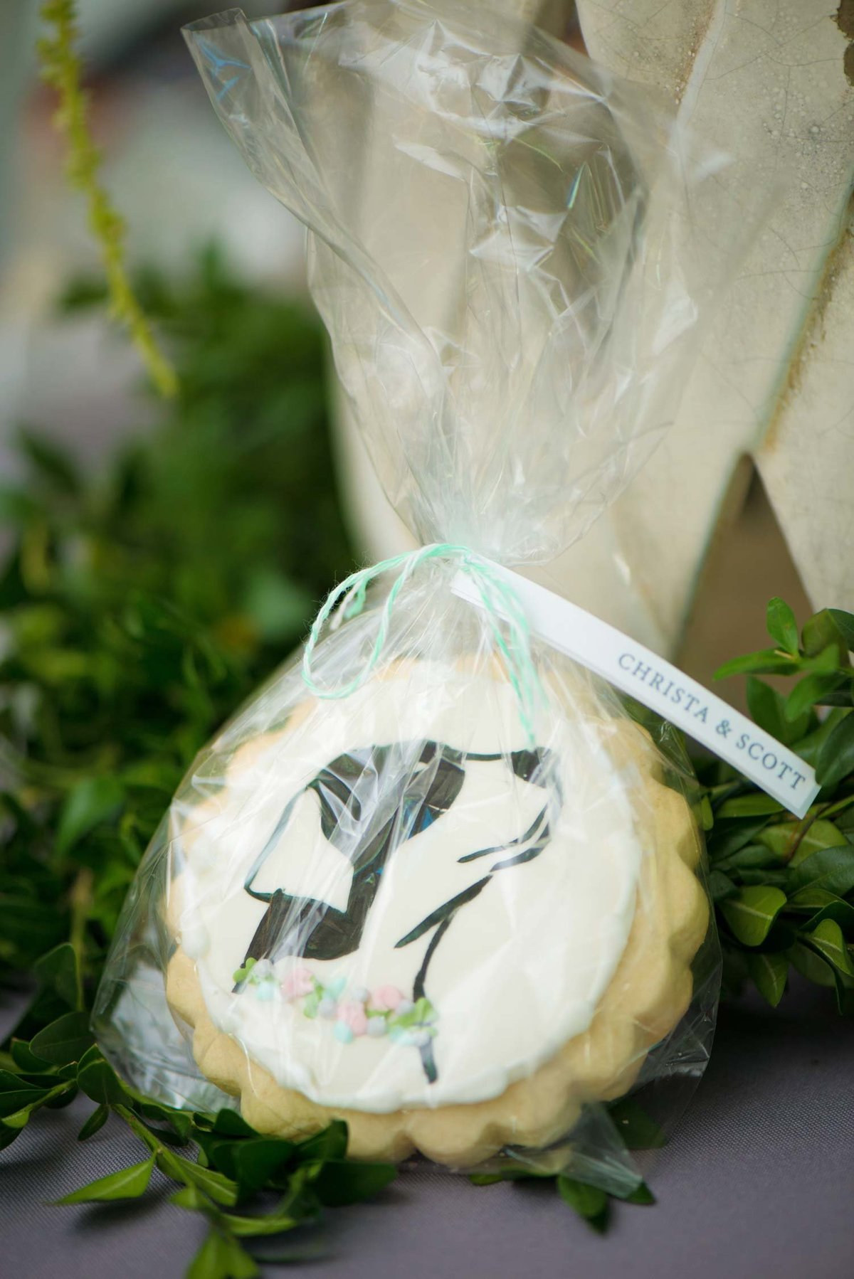 Cookie giveaways at Flowerfield