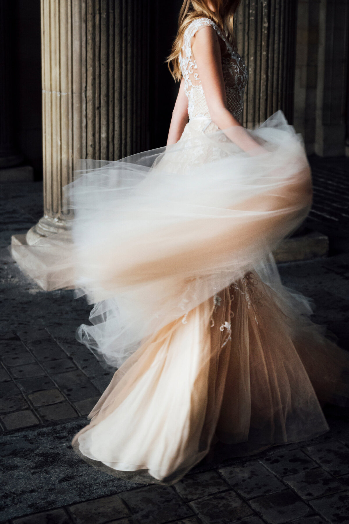 Katie Mitchell, Monique Lhuillier Bridal Paris France Wedding Trine Juel Hair and makeup 10