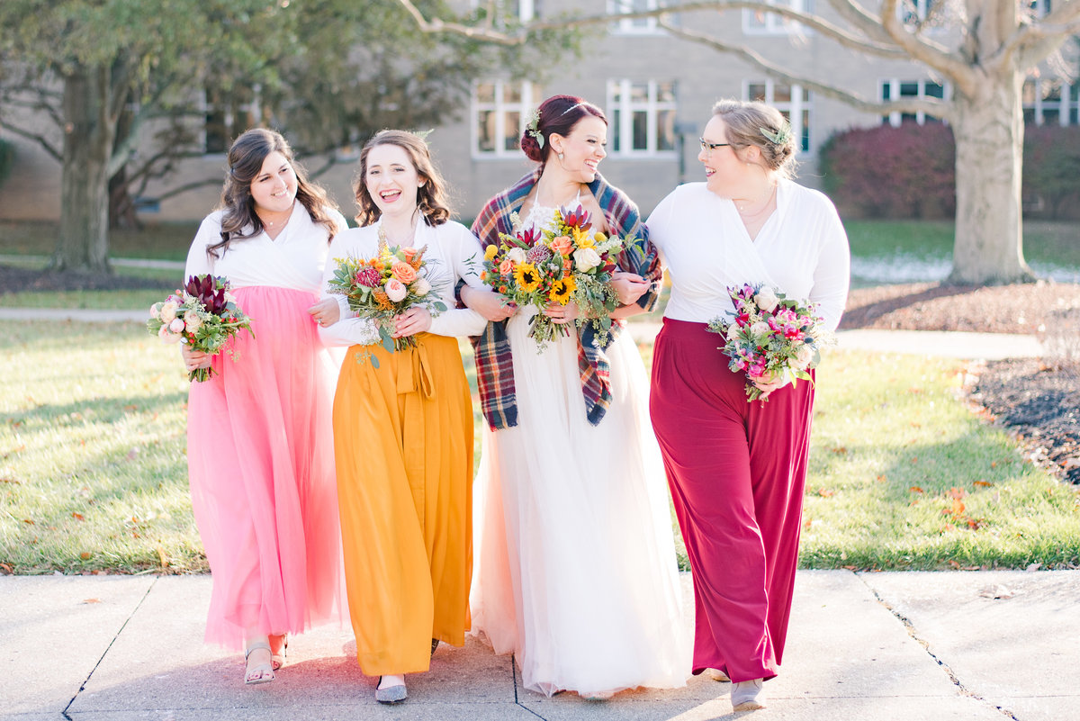 Urban Artifact Brewery Colorful Fall Wedding-135