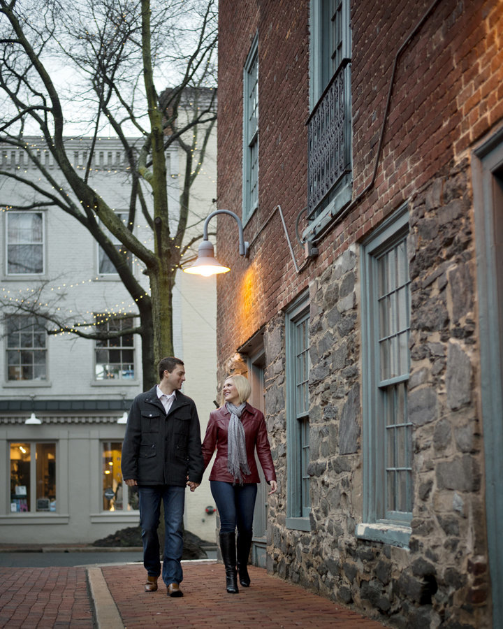 Old Town Alexandria Engagement Session, Alexandria Engagement Photographer, Erin Tetterton