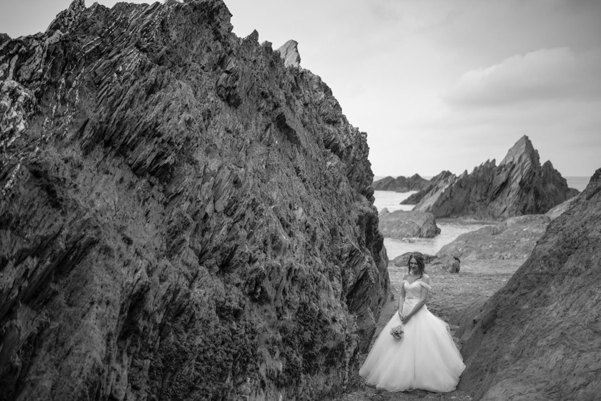 Tunnels Beaches Bride among the rocks