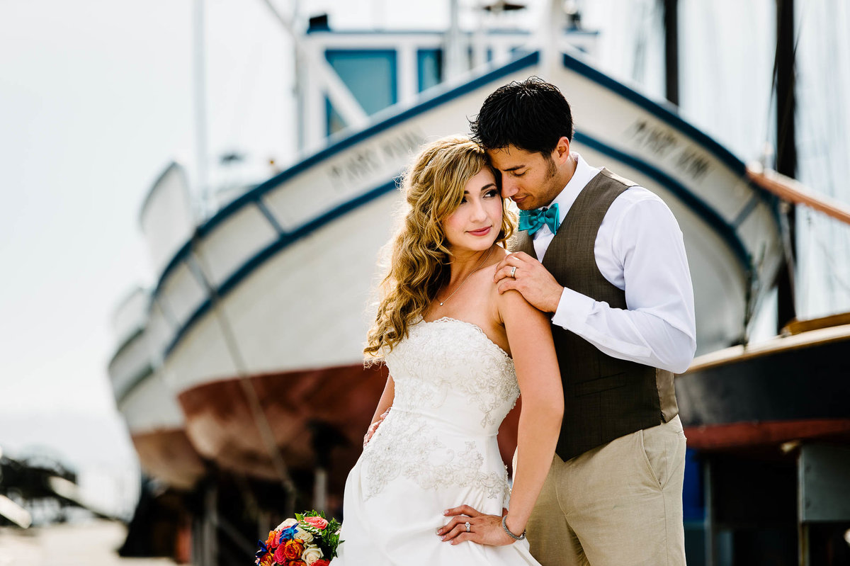 wedding at maritime museum in san diego by stephane lemaire photography