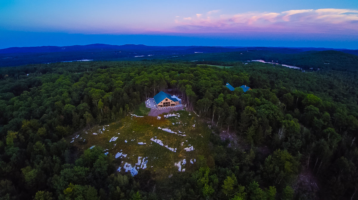 aerial photography, Maine, drone wedding photography