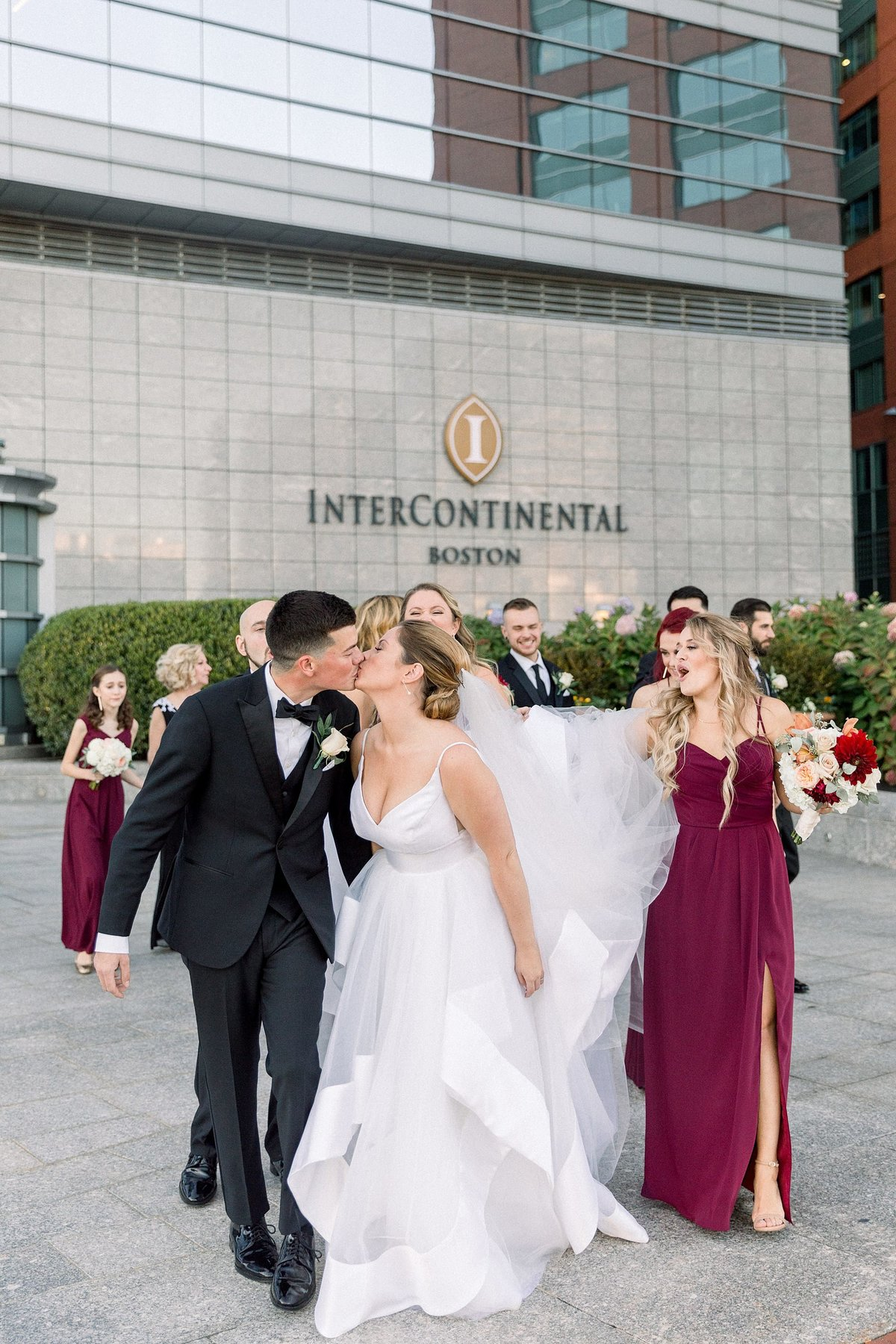 InterContinental Boston Wedding Photos By Halie-Post-Ceremony Portraits-4
