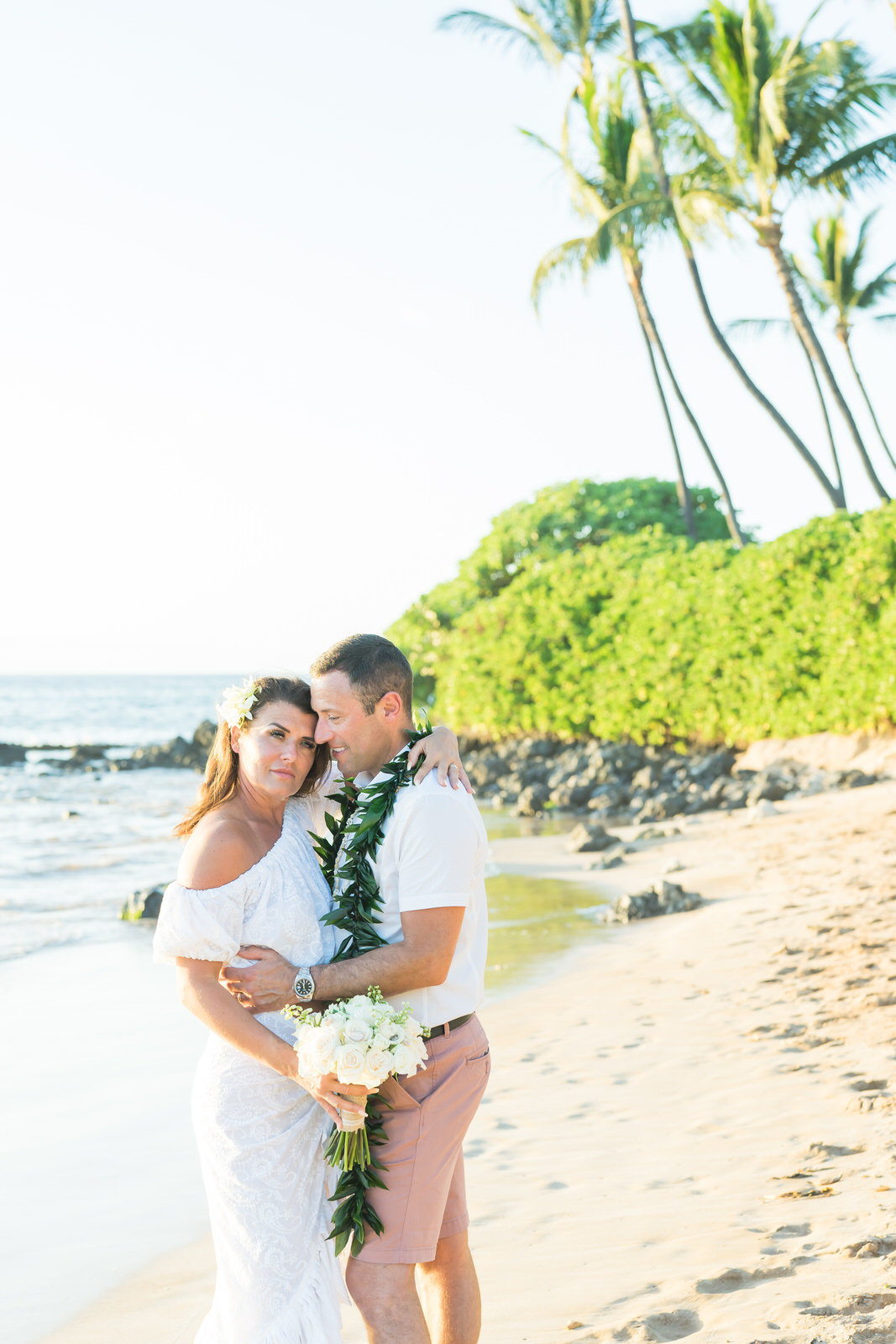Maui vow renewal on the beach