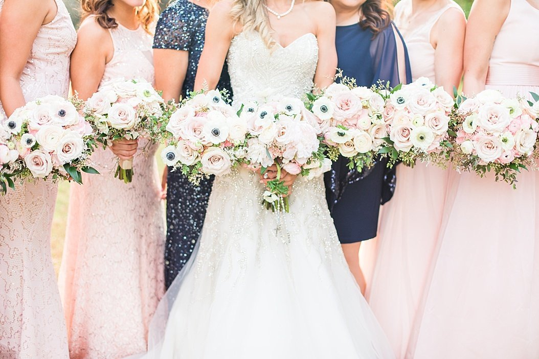 blush navy and gold wedding at Sisterdale dance hall in Boerne Texas by Allison Jeffers Wedding Photography_0083