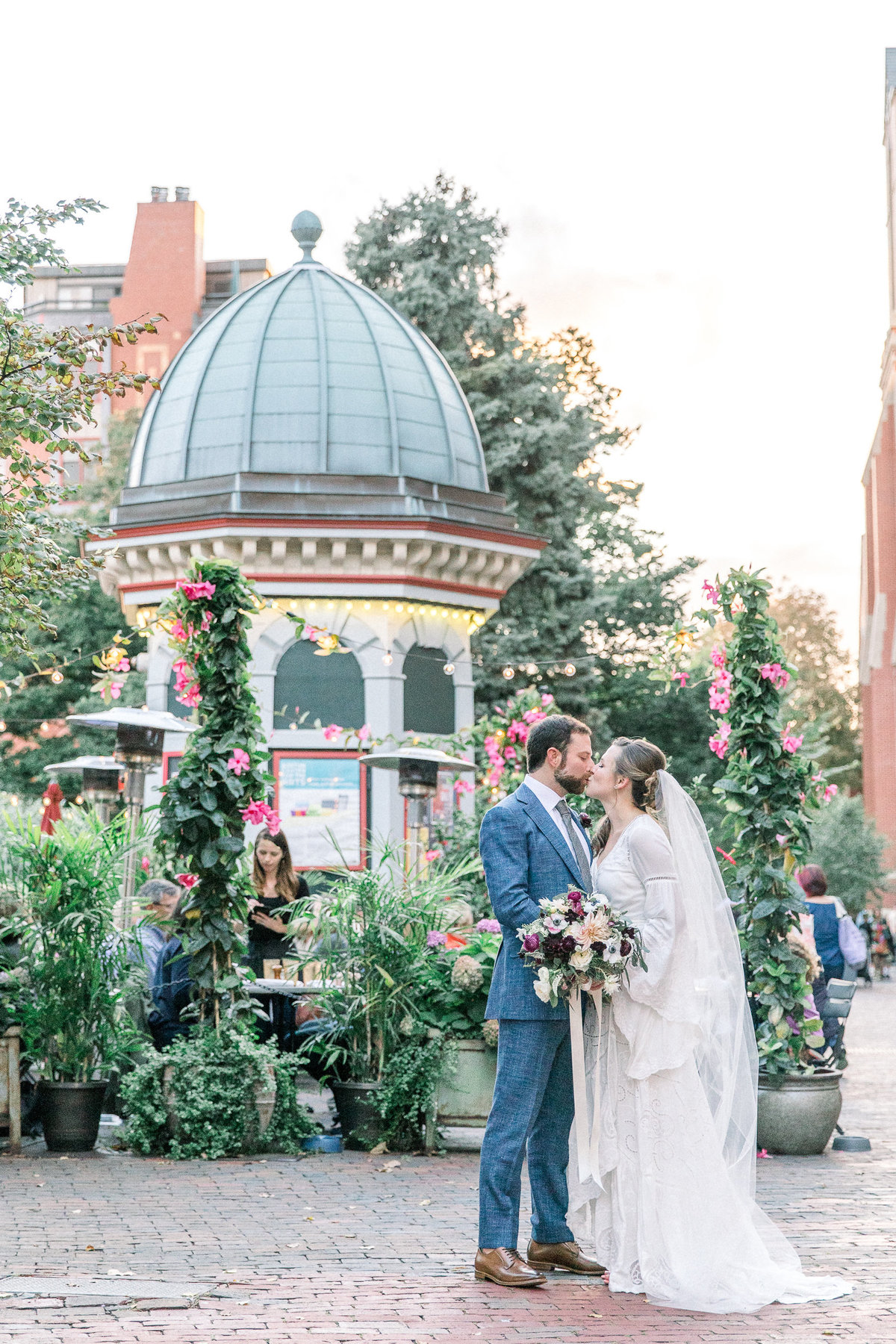 South End Boston Cyclorama Wedding By Halie-1991