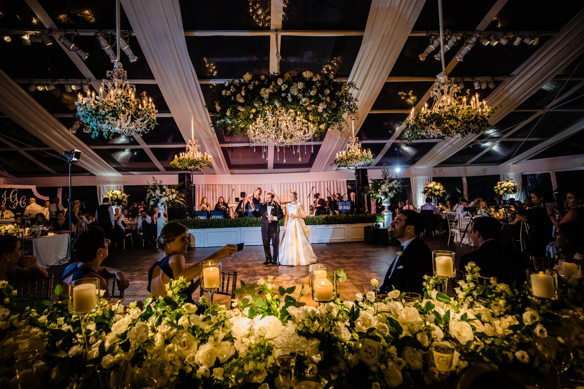 Lake Forest Tent Wedding