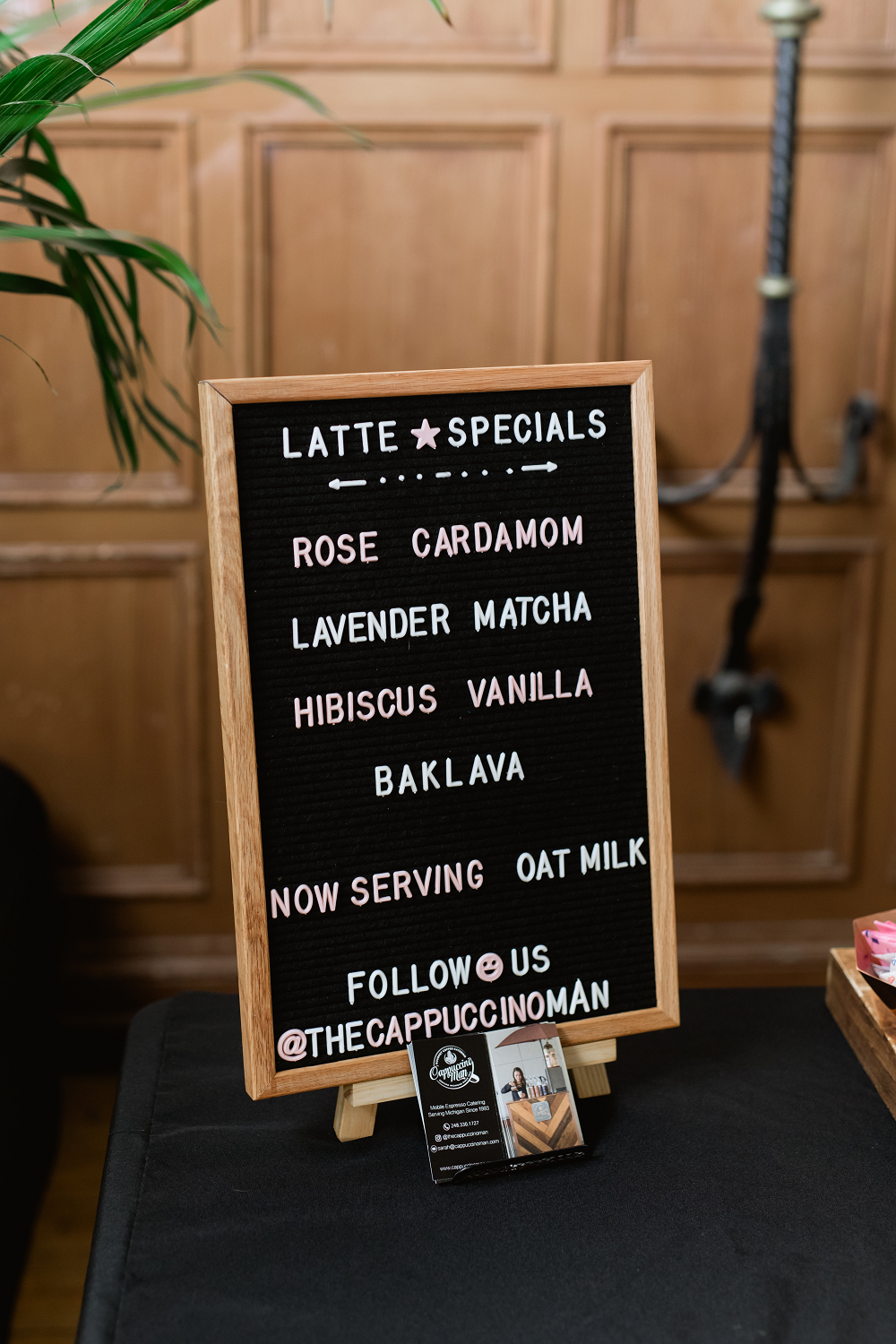 Detroit Yaght Club Wedding With Laura And John Coffee Bar Specials