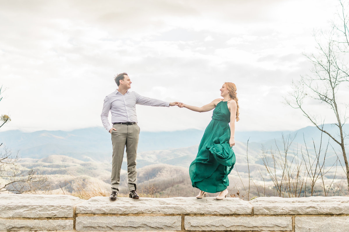 Foothills-Parkway-Engagement-Session-Willow-and-Rove