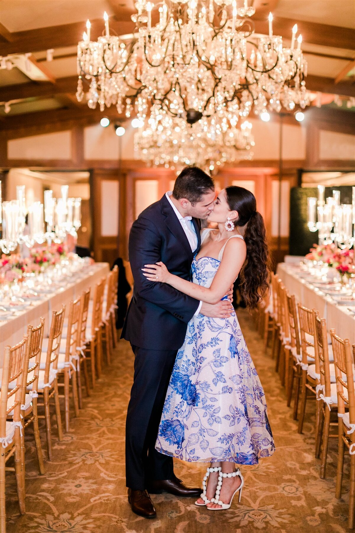 Colorful Beverly Hills Rehearsal Dinner-Valorie Darling Photography--10