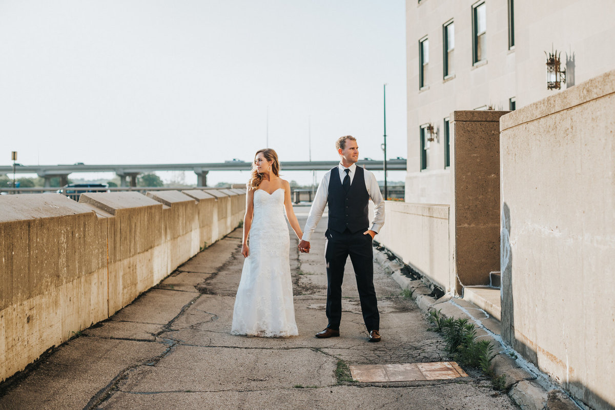 Cedar Rapids Veterans Memorial Building Wedding