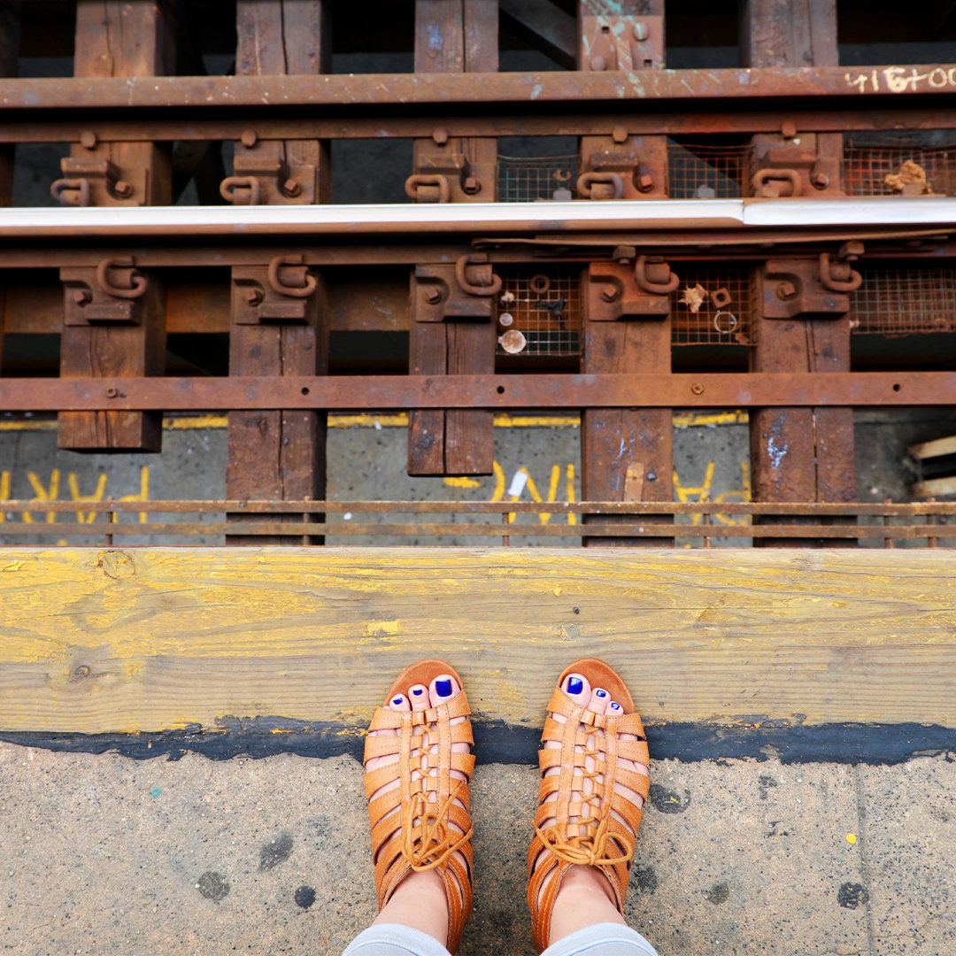Jessica Griffin Photo SoCal Family Travel Blogger New York City subway