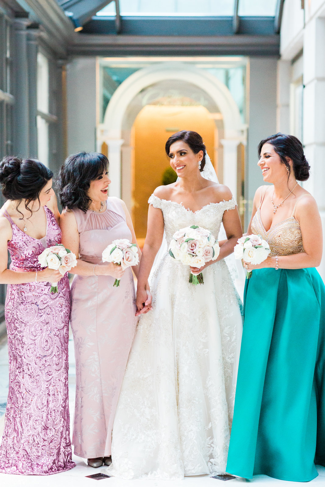 Fairmont Hotel DC wedding photographer