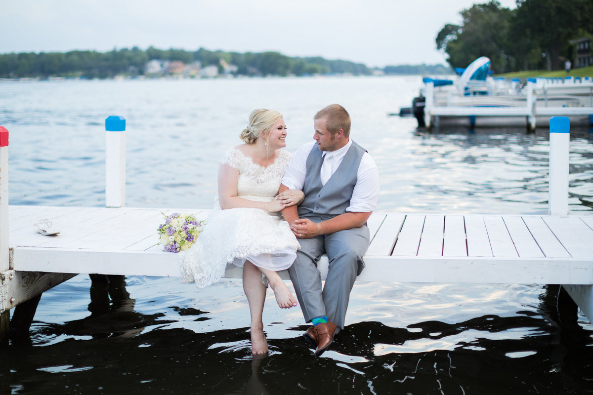 Resort Wedding Photography on the Lake