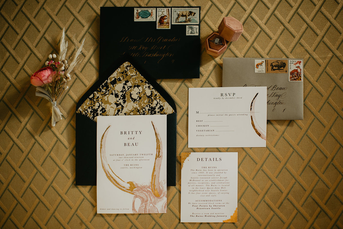 Britty + Beau - Elopement - The Ruins_ Seattle_ WA - Kamra Fuller Photography - Runaway With Me Elopement Collective-4