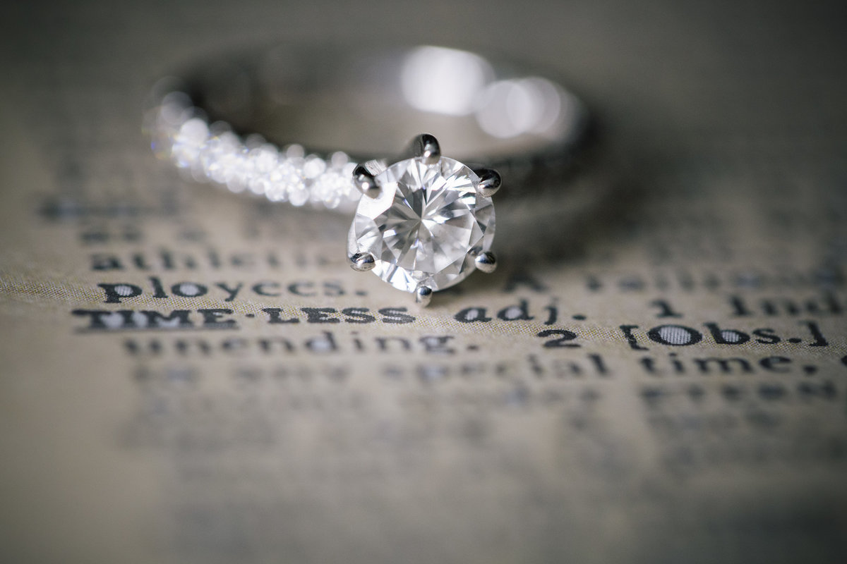 engagement ring for spring lake bath and tennis club  wedding