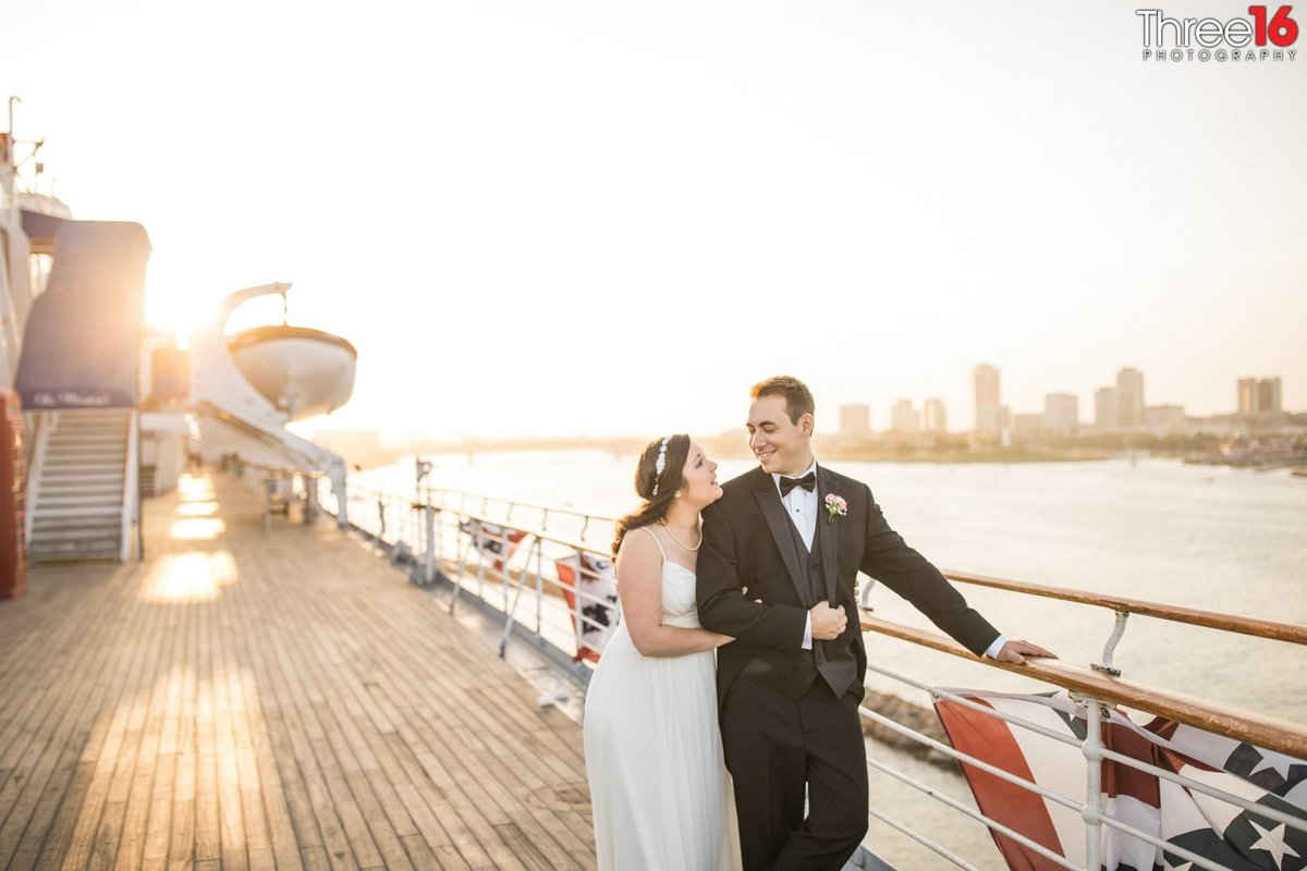 Queen Mary Long Beach Wedding Photography_