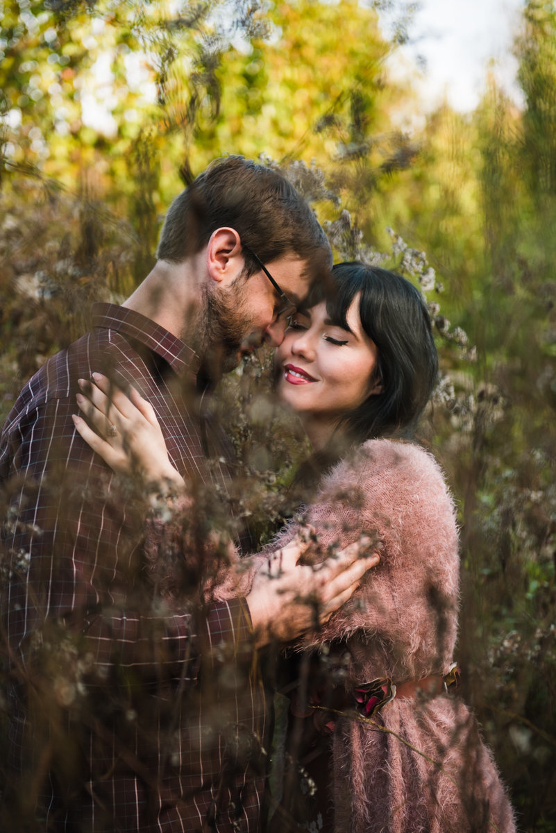 Engagement Session Birmingham, AL BANG Images wild field