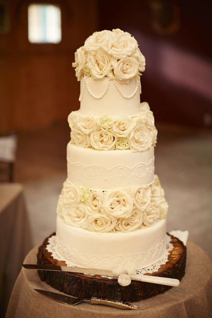 Whippt Desserts and Catering Wedding Cake - photo by Photobolic
