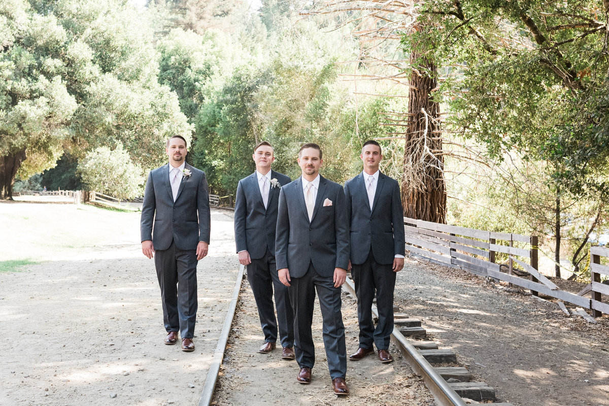 Roaring Camp Railroad Santa Cruz Wedding13