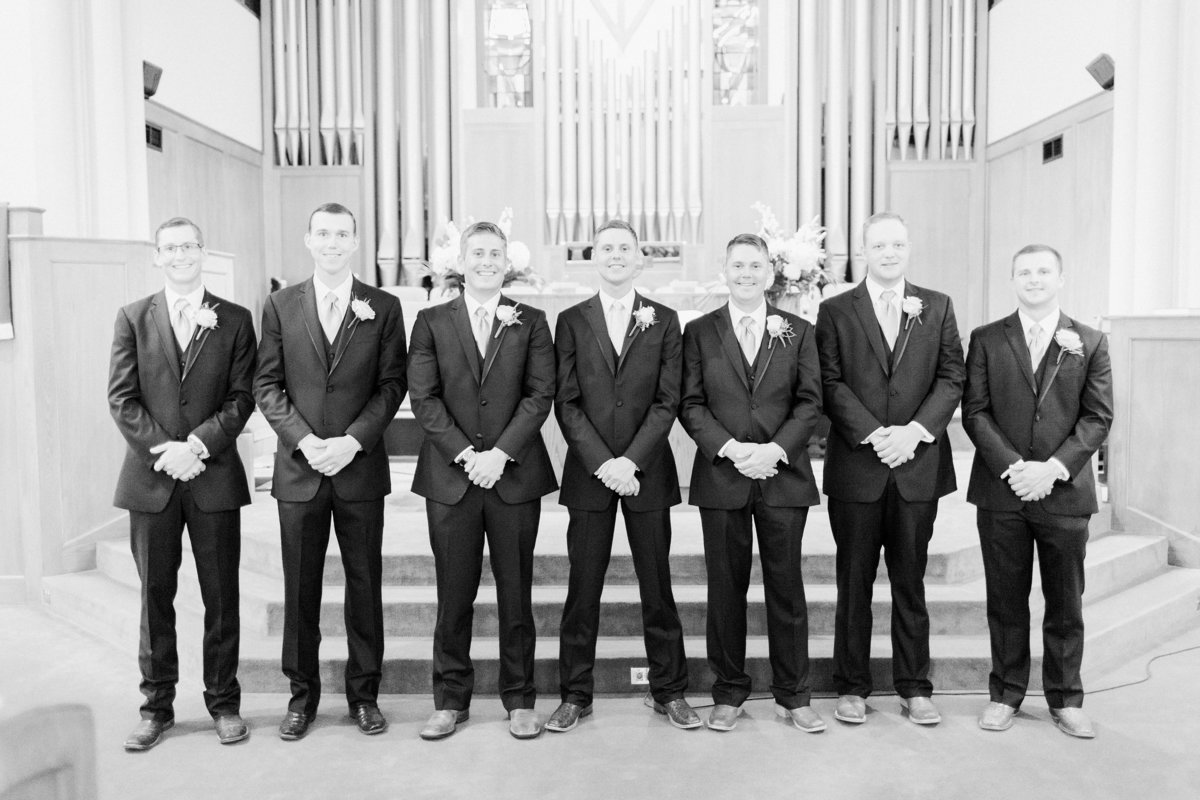 Ardmore Convention Center Wedding Groomsmen