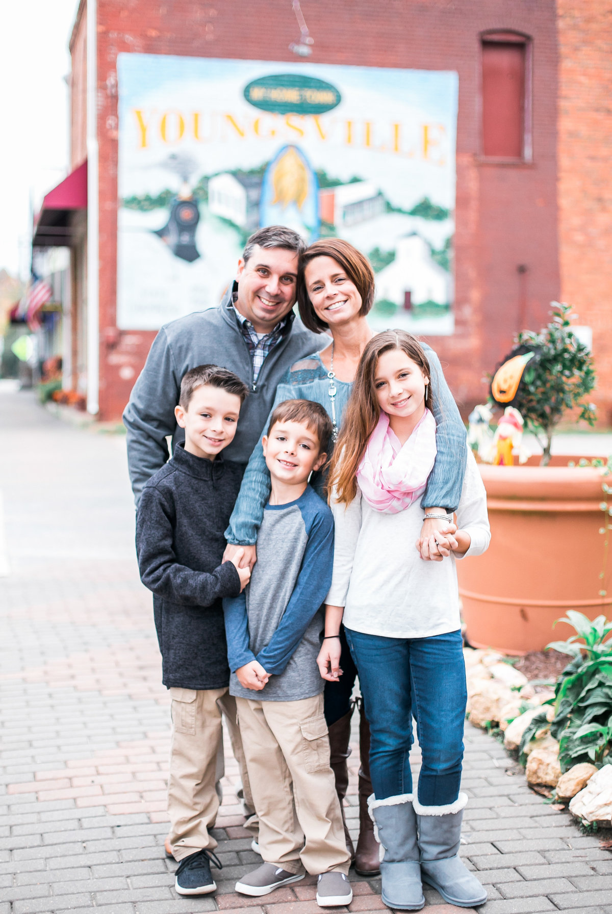 Wake Forest Lifestyle Family Photographer