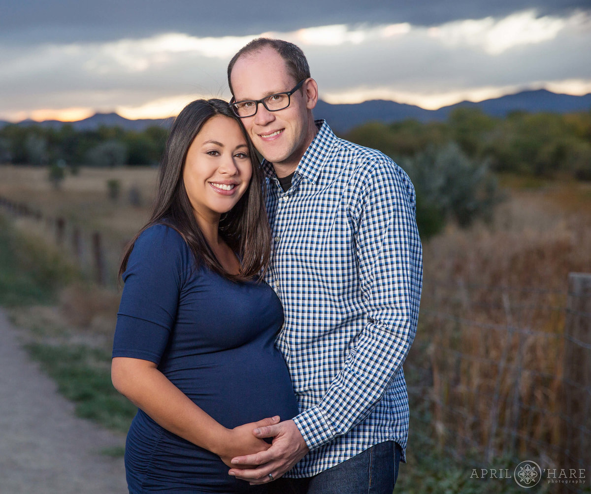 Colorado Maternity Photographer Crown Hill Open Space