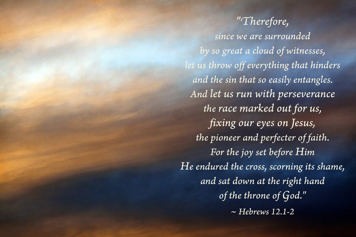 Glory Skies 16 - Hebrews 12.1-2