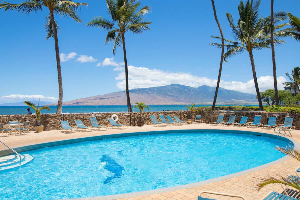 Menehune Shores real estate photography - pool