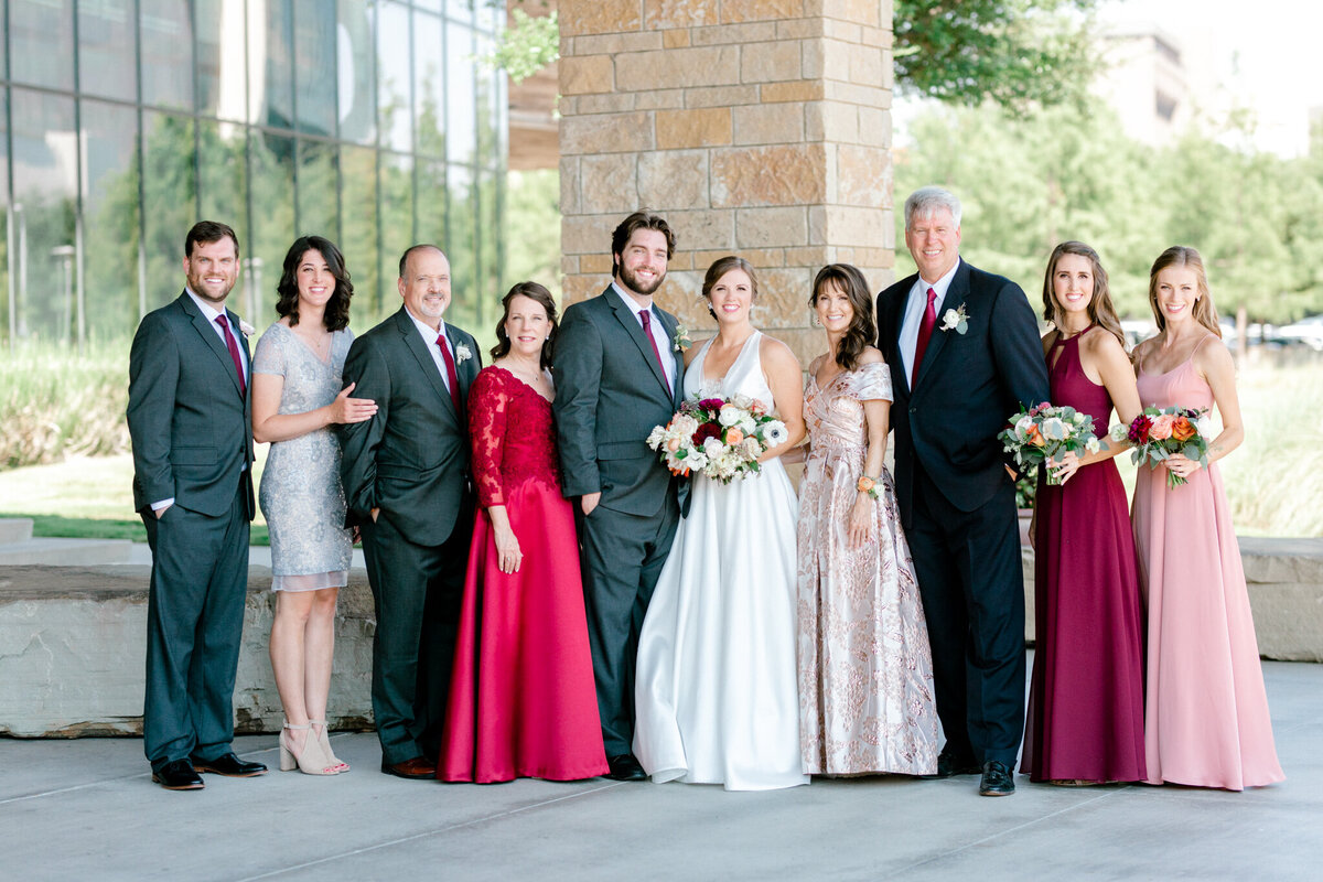 Kaylee & Michael's Wedding at Watermark Community Church | Dallas Wedding Photographer | Sami Kathryn Photography-73