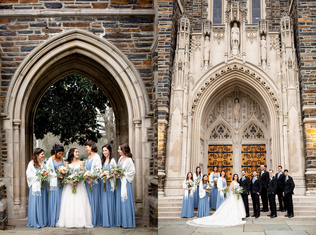 Duke University Chapel wedding in Durham