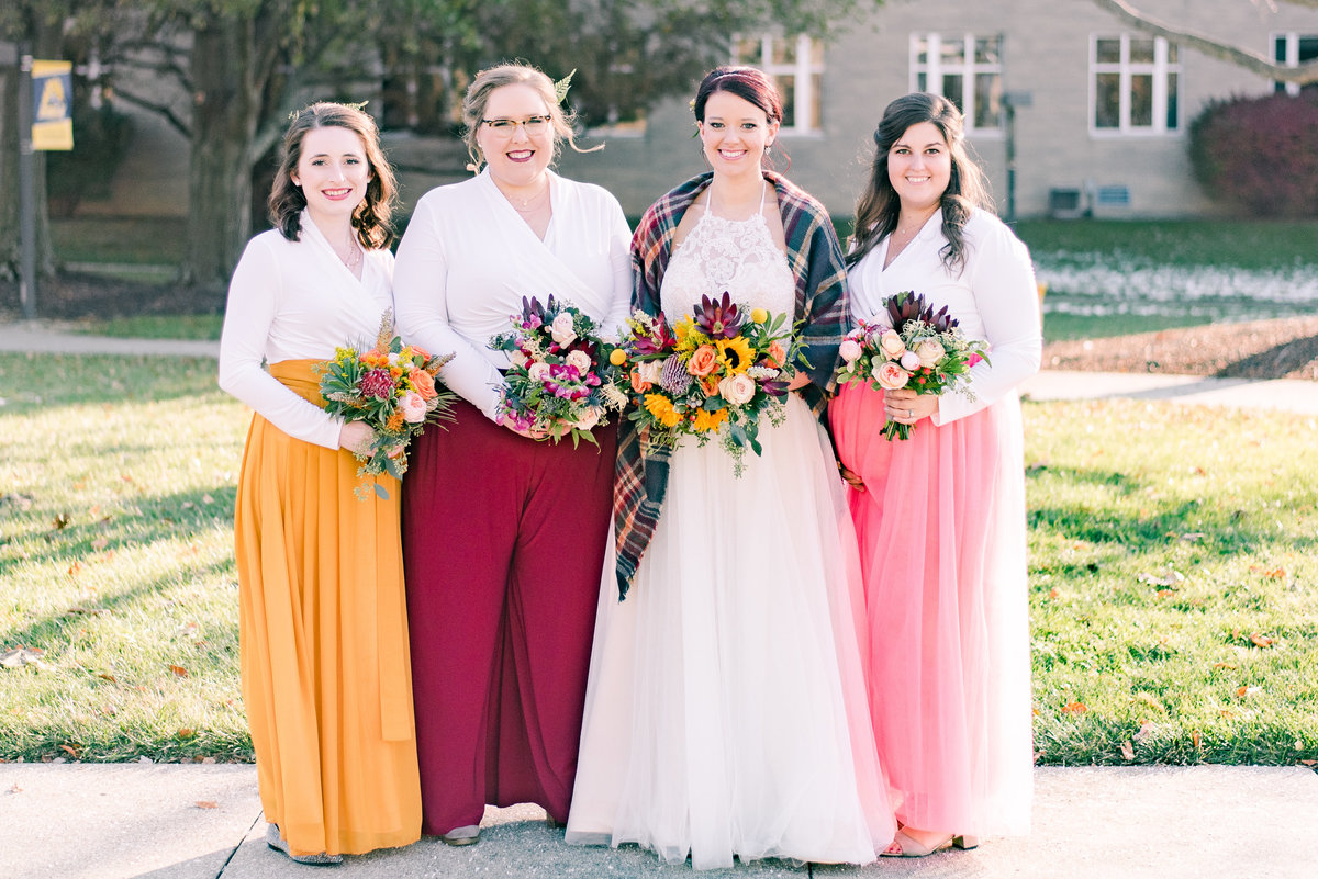 Urban Artifact Brewery Colorful Fall Wedding-116