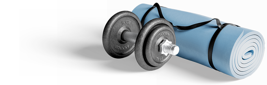 Personal-Training-Mat-Dumbbell