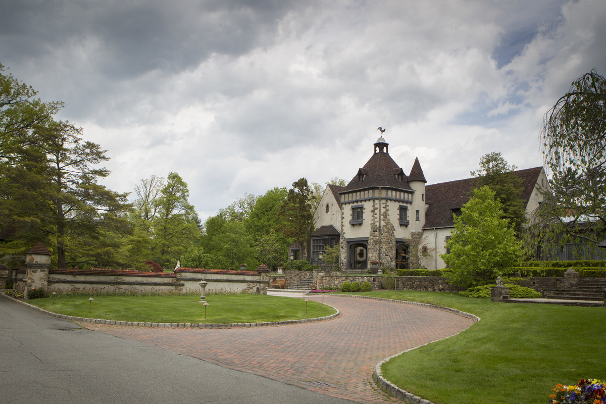 Pleasantdale Chateau Luxury NJ Wedding Purple Blue Pink Silver