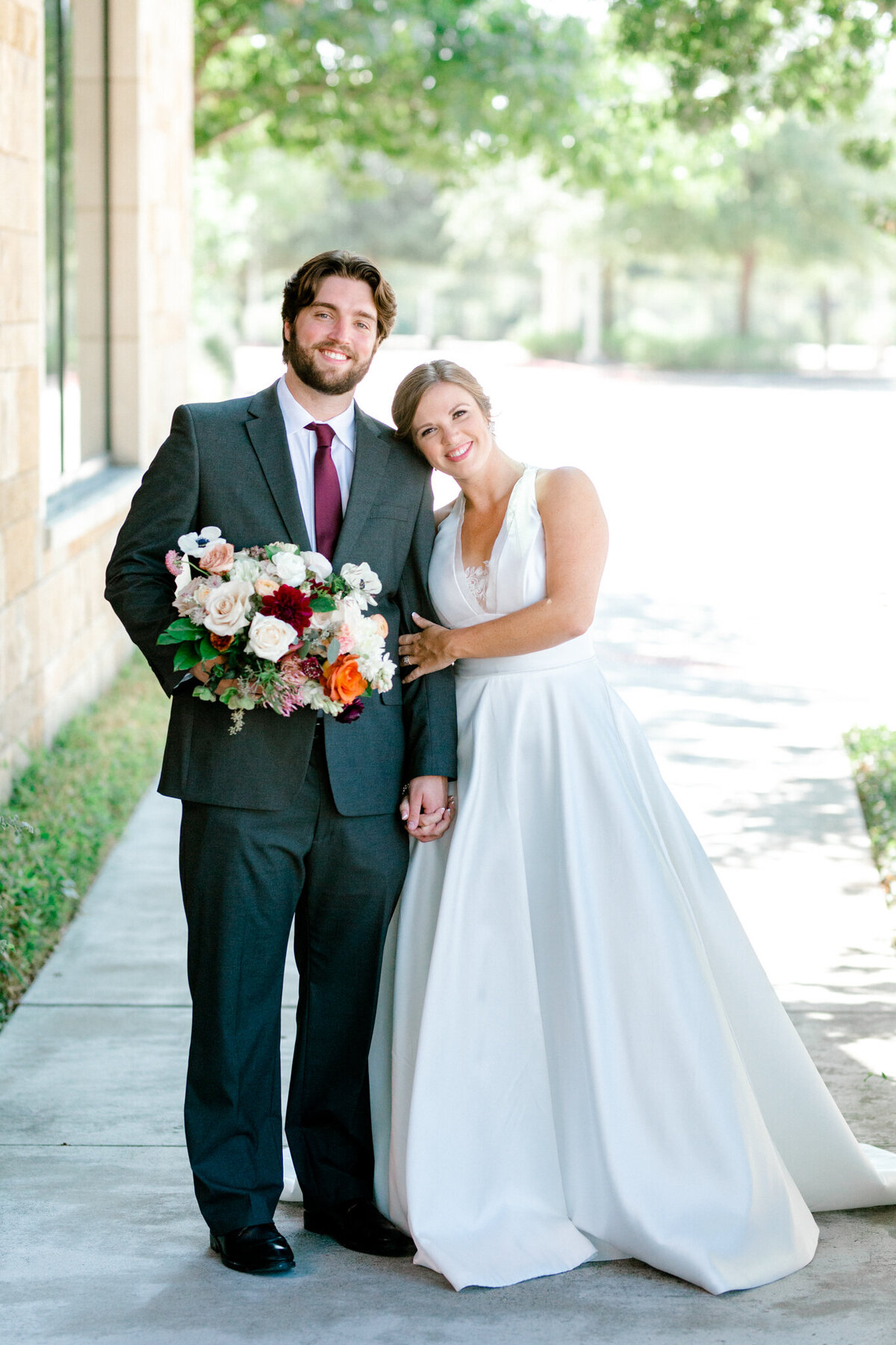 Kaylee & Michael's Wedding at Watermark Community Church | Dallas Wedding Photographer | Sami Kathryn Photography-6